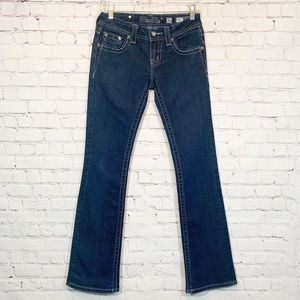 Miss Me Jeans | JE5730BL Bootcut Bling Pockets